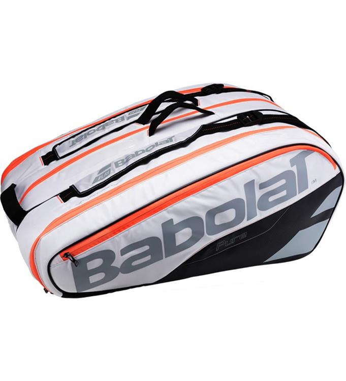 Babolat X12 Pure White Racketholder
