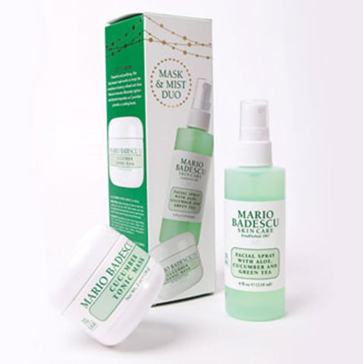 Mario Badescu - Cucumber Mask & Mist Duo Kit - 118 ml + 59 ml