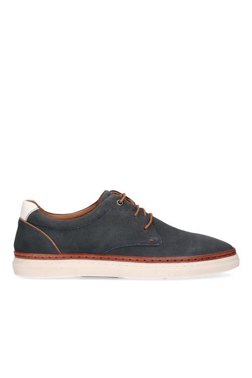 Afbeelding van Australian Footwear Anelka veterschoen leer Blauw