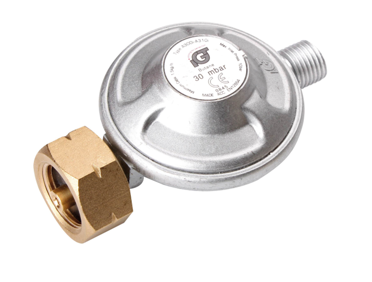 IGT - Drukregelaar - Universeel - 1/4 inch - Linkse aansluiting - 30 Gr