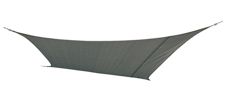 BC Schaduwdoek ruit grijs 3,6x3,6m
