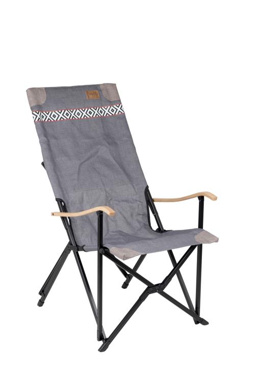 Bo-Camp - Urban Outdoor - Vouwstoel - Camden - Grijs