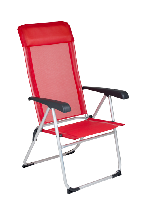 Red Mountain - Campingstoel - Nice - Rood