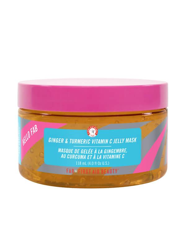 Hello FAB Ginger & Turmeric Vitamin C Jelly Mask - 118 ml
