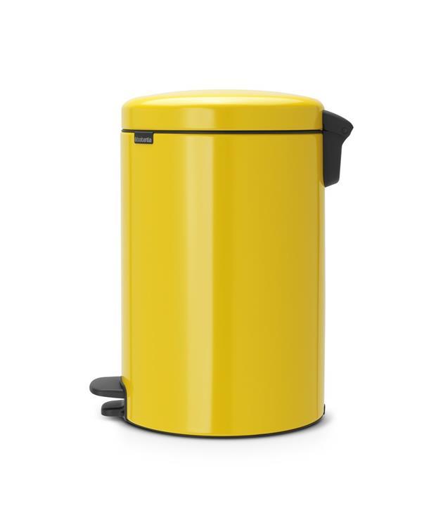 Brabantia Pedaalemmer 20l.Brabantia Newicon Pedaalemmer 20 L Daisy Yellow