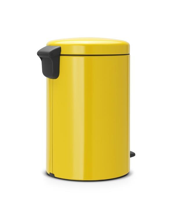 Brabantia Pedaalemmer 20l.Brabantia Newicon Prullenbak 20 L Daisy Yellow
