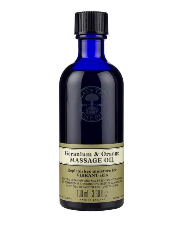 Neal's Yard Remedies - Geranium&Orange Massage Oil - 100 ml