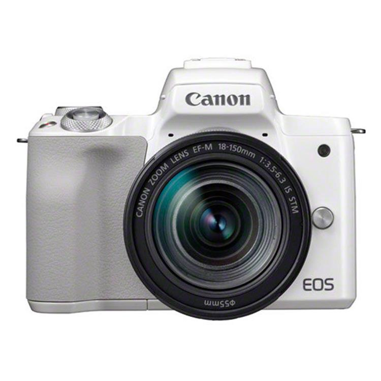 Canon EOS M50 Body + 18-150mm - Wit