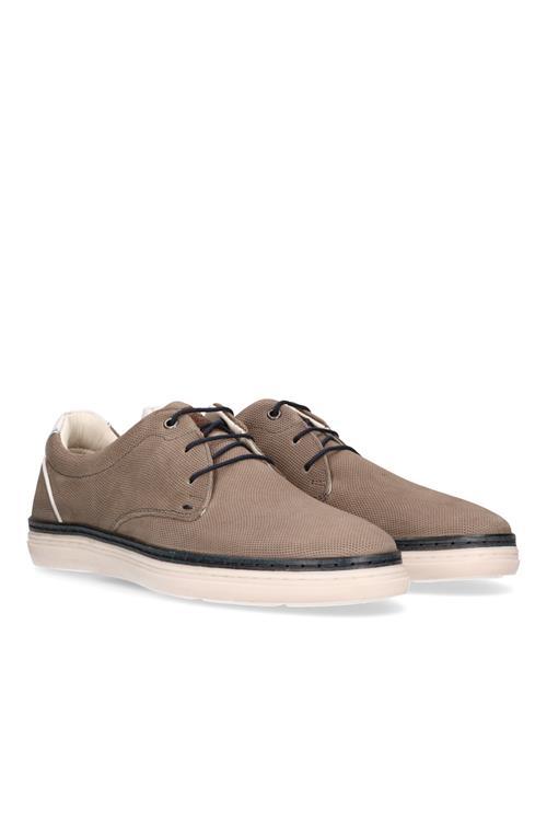 Afbeelding van Australian Footwear Anelka sneaker leer Grijs