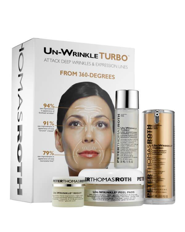 Un-Wrinkle Turbo Kit - 30 ml + 15 ml + 8 gr. + 20 st.