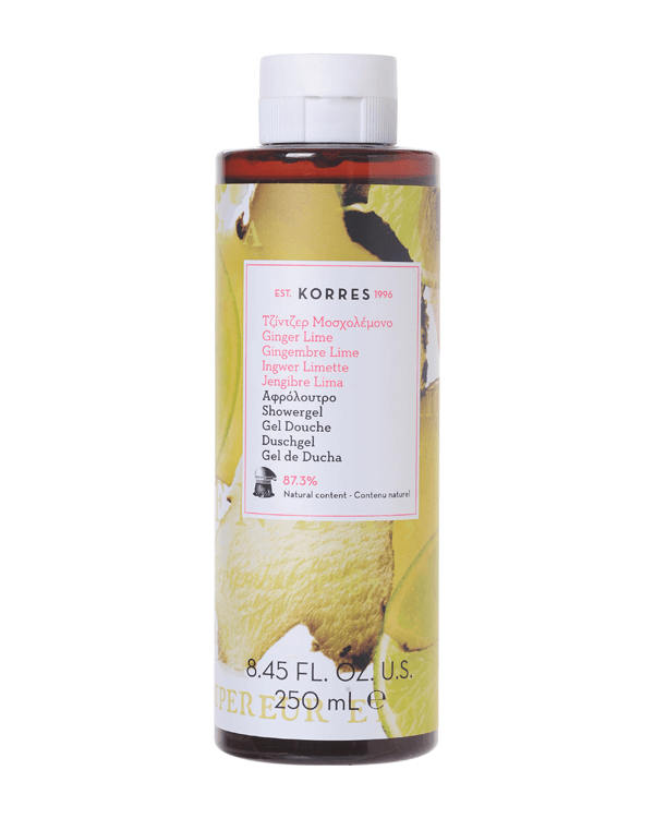 Korres - Ginger Lime Showergel - 250 ml