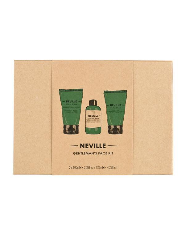 Neville - Gentlemans Face Kit - 125ml + 100ml + 100ml