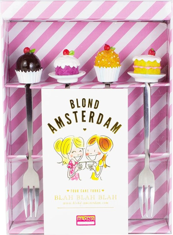 Blond Amsterdam Gebaksvorkjes - 4 stuks