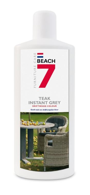 Beach 7 Instant grey voor teak onderhoud - 1 liter