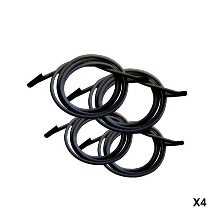 Lafuma RSXA Elastiek met eindstuk - zwart