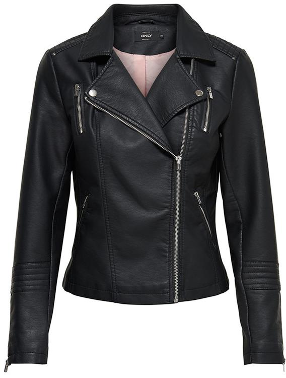 onlGEMMA FAUX LEATHER BIKER OTW NOOS