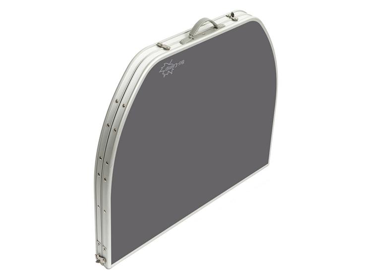 Bo camp tafel ovaal koffermodel 150x80 cm geels woonwarenhuis