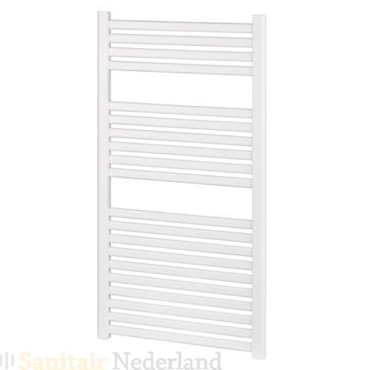 Design radiator Almera 50x120cm wit (Onder- en bovenaansluiting)