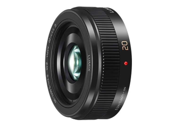 Panasonic Lumix H-H020AE 20mm F1.7 Zwart