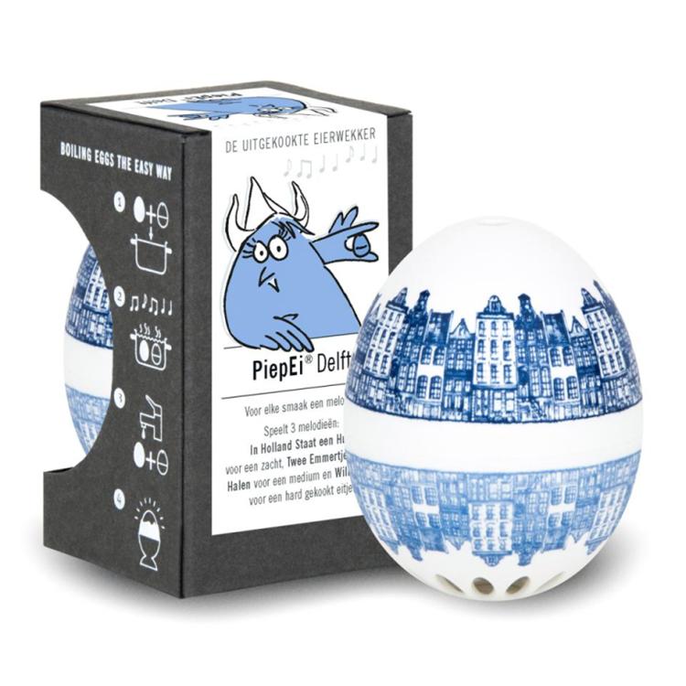 PiepEi Eierwekker Delfter - Delfts blauw