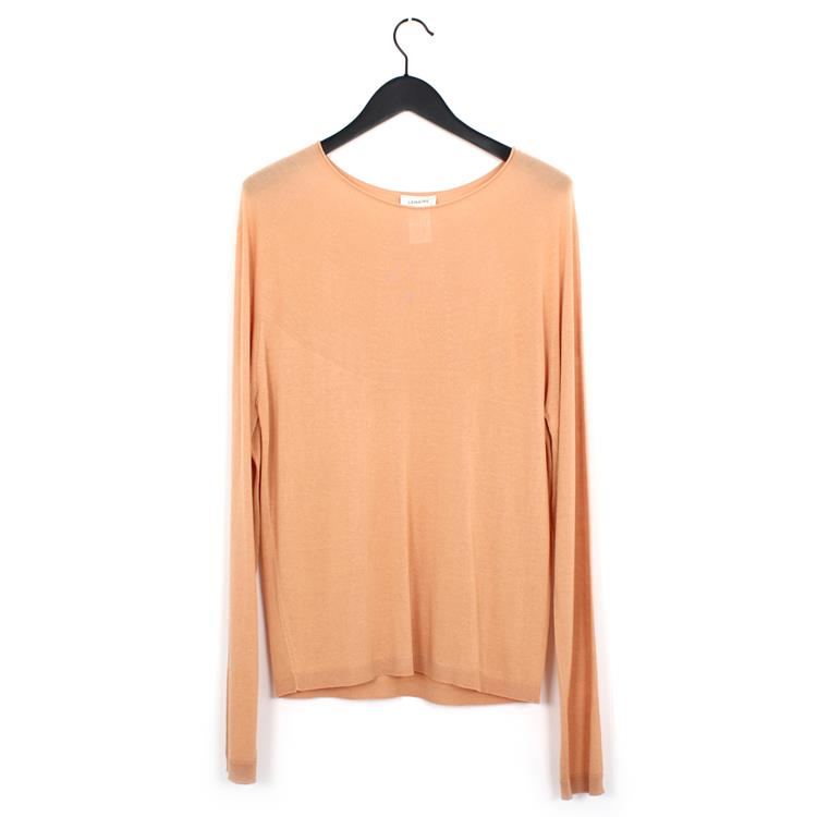 Lemaire lose sweater apricot