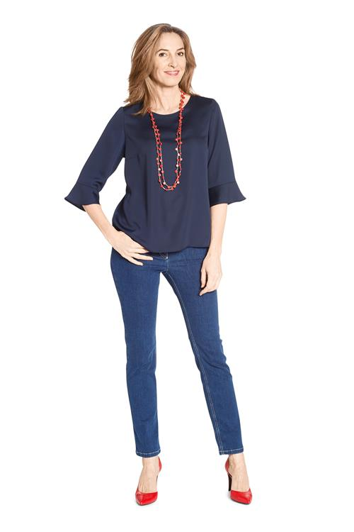 Top Trompetmouw Navy