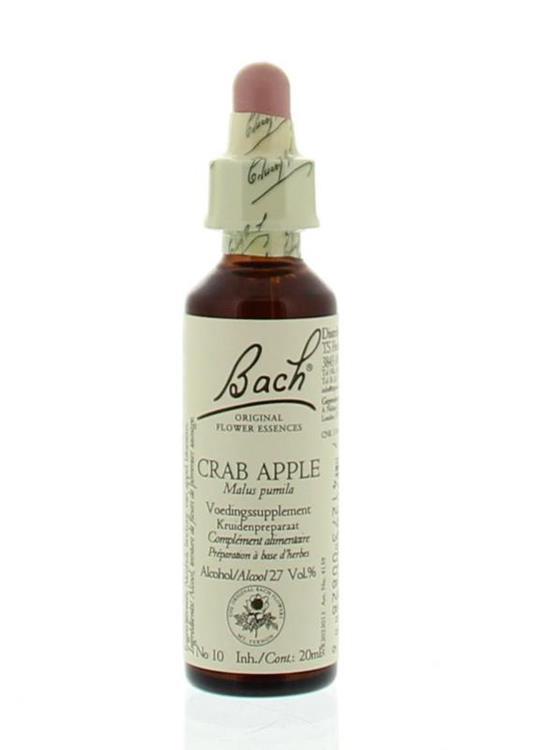 Bach Flower Remedies 10 Crab Appel 20ml