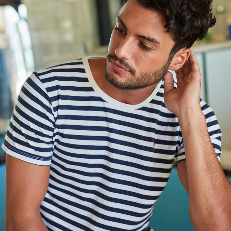 Mads Navy Stripe