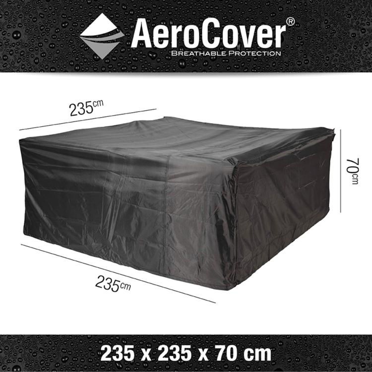 AeroCover Beschermhoes 235x235x70 cm