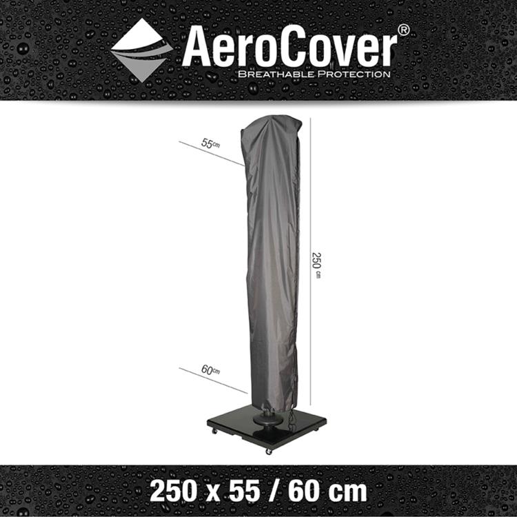 AeroCover Zweefparasolhoes H250x55/60