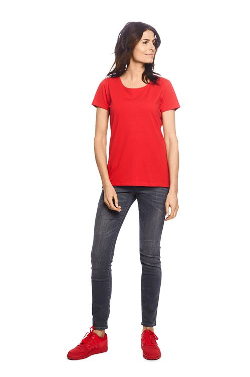 T-shirt Organic Cotton Rood