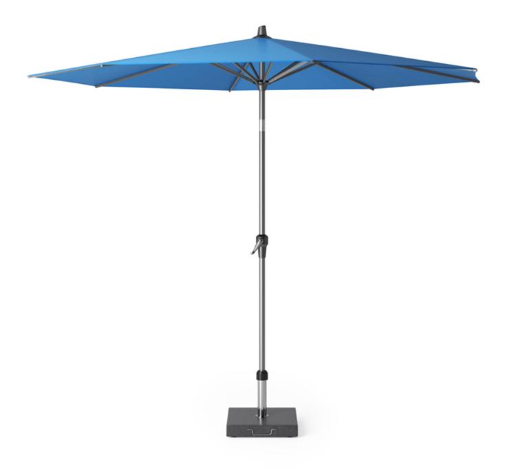 Platinum Riva parasol Ø3 m - blauw