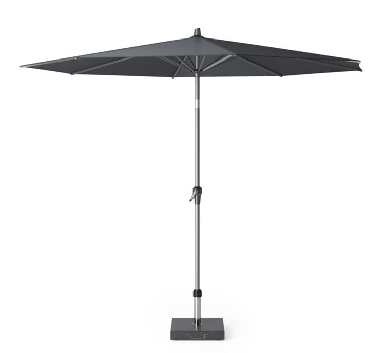 Platinum Riva parasol Ø3 m - antraciet