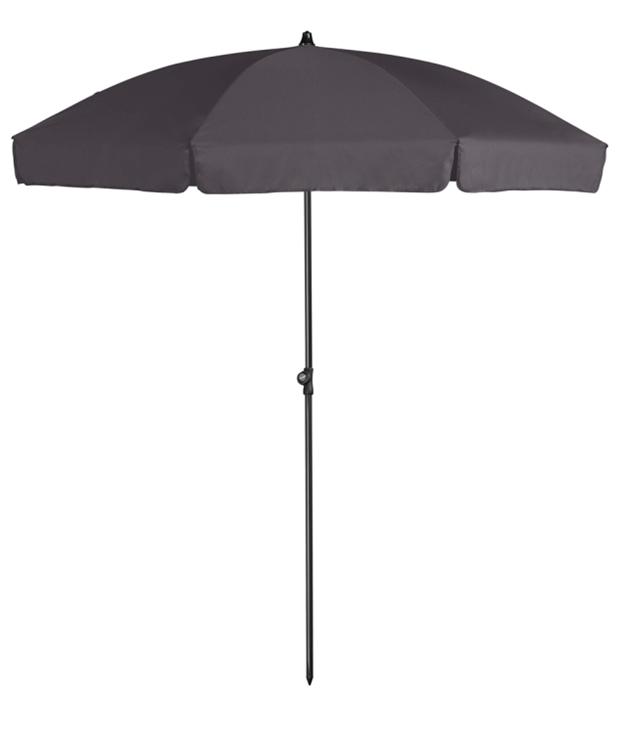 Platinum Aruba parasol Ø2 m - antraciet