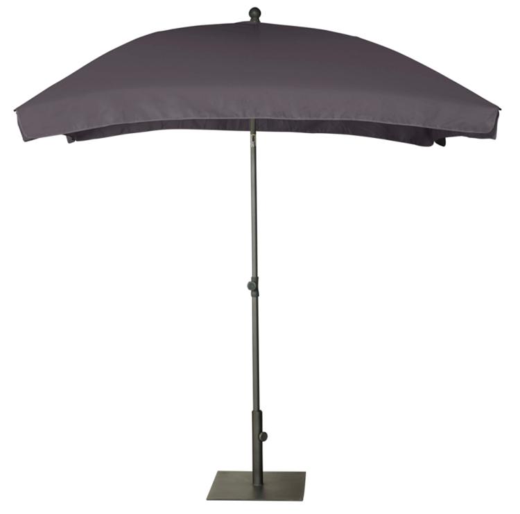 Platinum Aruba parasol 2x1,3 m - antraciet