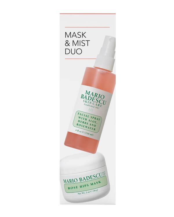 Mario Badescu - Rose Mask & Mist Kit - 118 ml + 56 g