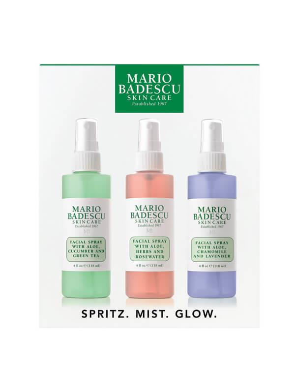 Mario Badescu Spritz Mist Glow Mist Trio 3 X 118 Ml
