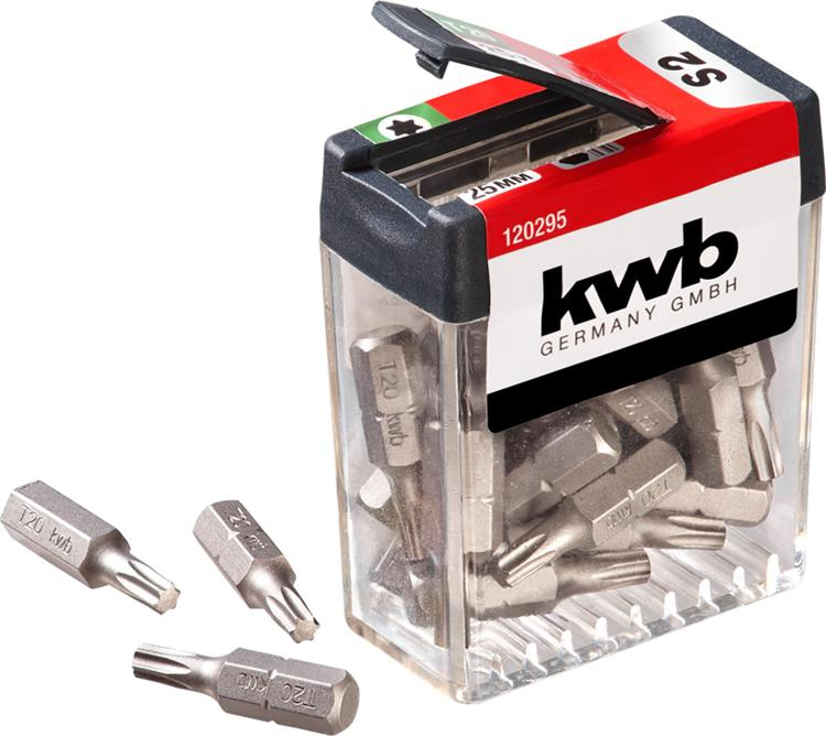 KWB schroefbit box 25 mm T20 25 st.