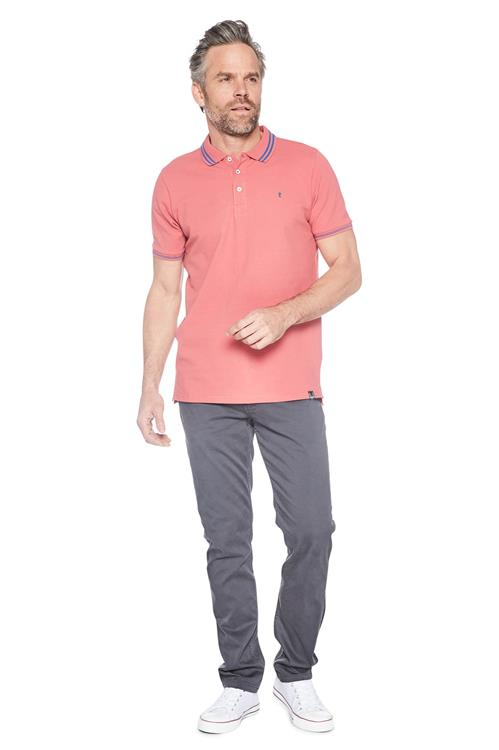 Twinlife Polo Basic Roze