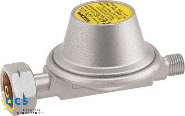 OCS veiligheidsdrukregelaar 50mb aansluiting 1/4 links 1,5 kg/h