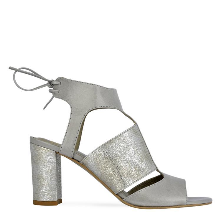 7fe3870d755 Sandal Nam - Cemento / Argento ZSGS