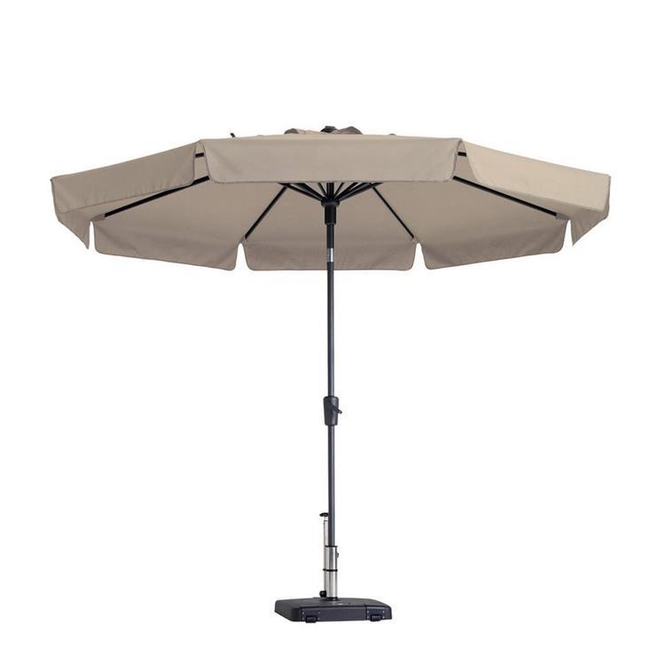 Madison Flores parasol luxe Ø300 cm - Ecru