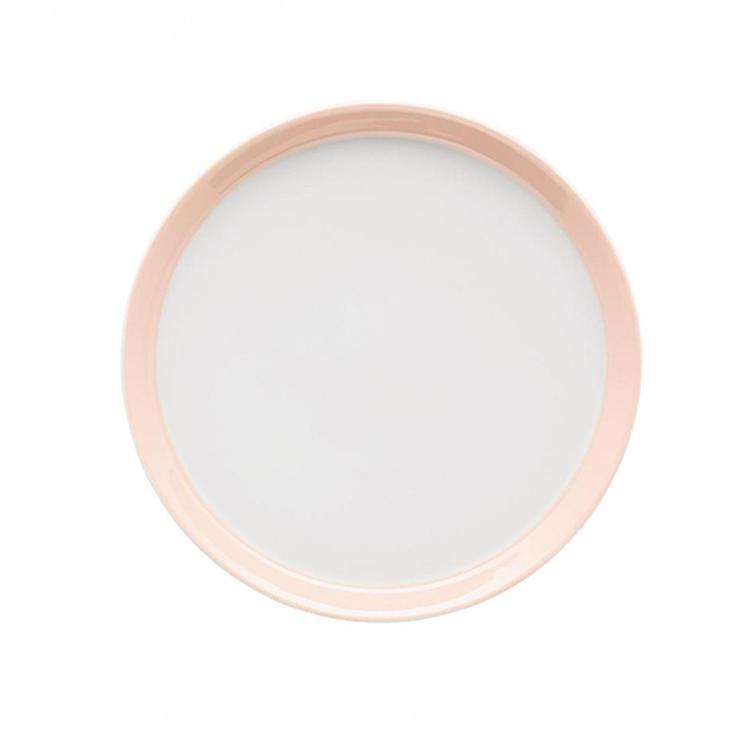 Arzberg Tric gebaksbord 18 cm - licht roze