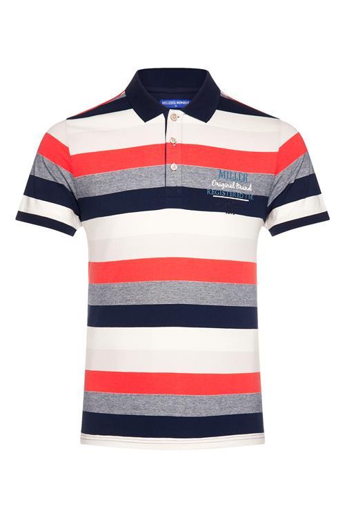 best loved 338e8 f75e9 Poloshirt Gestreift Rot