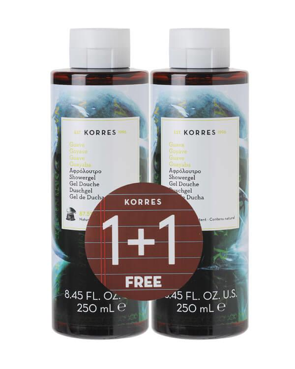 Korres - 1+1 Showergel Guava - 2 x 250 ml