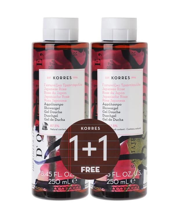Korres - 1+1 Showergel Japanese Rose  - 2 x 250 ml