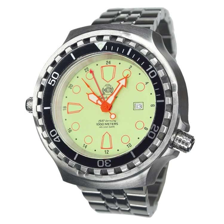Tauchmeister horloge T0276M stainless steel