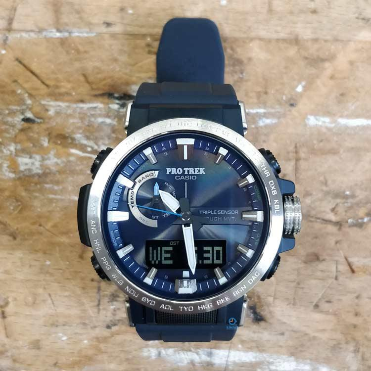 223d2a233852 Casio horloge PRW-60-2AER Pro Trek Sluiten. Verwijderen