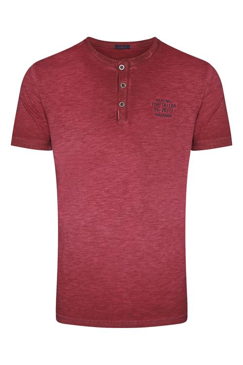 Tom Tailor Casual T-shirt Korte Mouw Rood