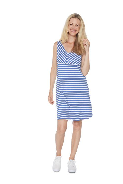 Tom Tailor Women Jurk Strepen Blauw